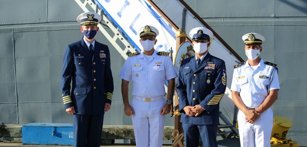 US Coast Guard, Brazil Navy Conduct Regional Engagements to Strengthen Partnership