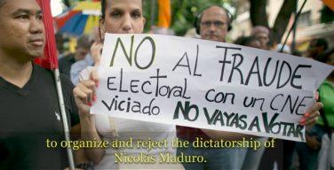 Venezuela: OAS Resolution