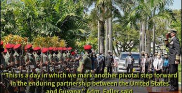 SOUTHCOM's Ties with Guyana and Suriname