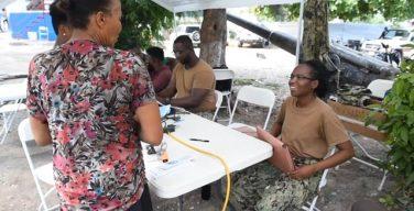 US COMFORT IN HAITI
