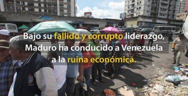 Venezuela en las manos de Maduro