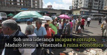 Venezuela nas mãos de Maduro