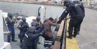 Marinha do Chile realiza a maior apreensão de cocaína