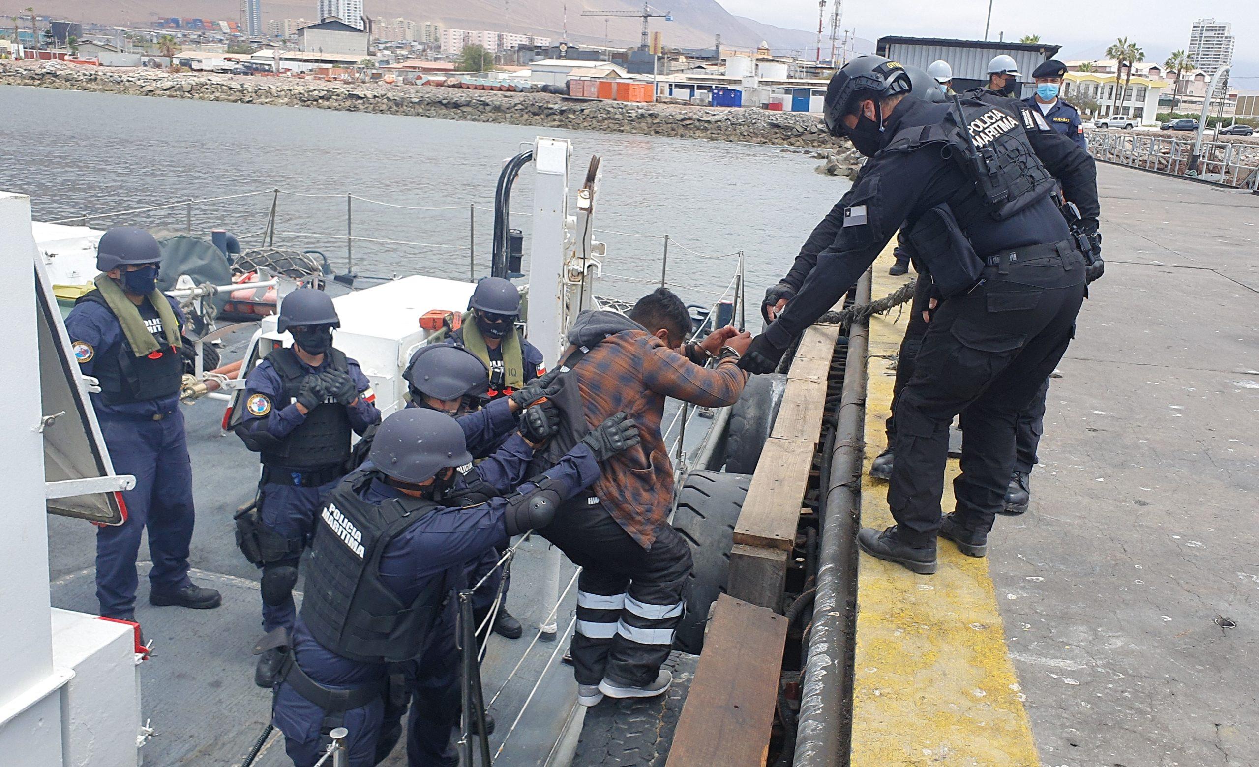 Chilean Navy Makes Largest Cocaine Seizure