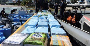 Marinha da Colômbia encerra 2020 com duros golpes contra o narcotráfico