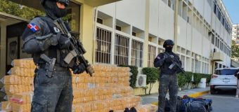 República Dominicana apreende 1,7 tonelada de cocaína