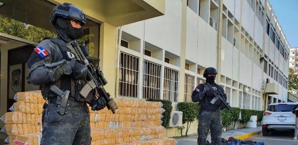 República Dominicana incauta 1,7 toneladas de cocaína