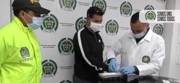 Colombia captura a alias Pedro