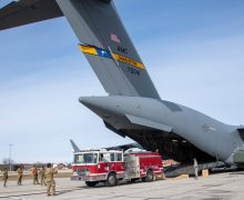 Reservistas entregan equipamiento crítico para bomberos en Centroamérica
