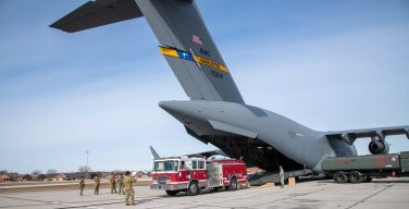 Reservists Deliver Critical Firefighting Gear to Central America