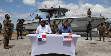 Panamá e Estados Unidos assinam acordo de entendimento sobre segurança marítima
