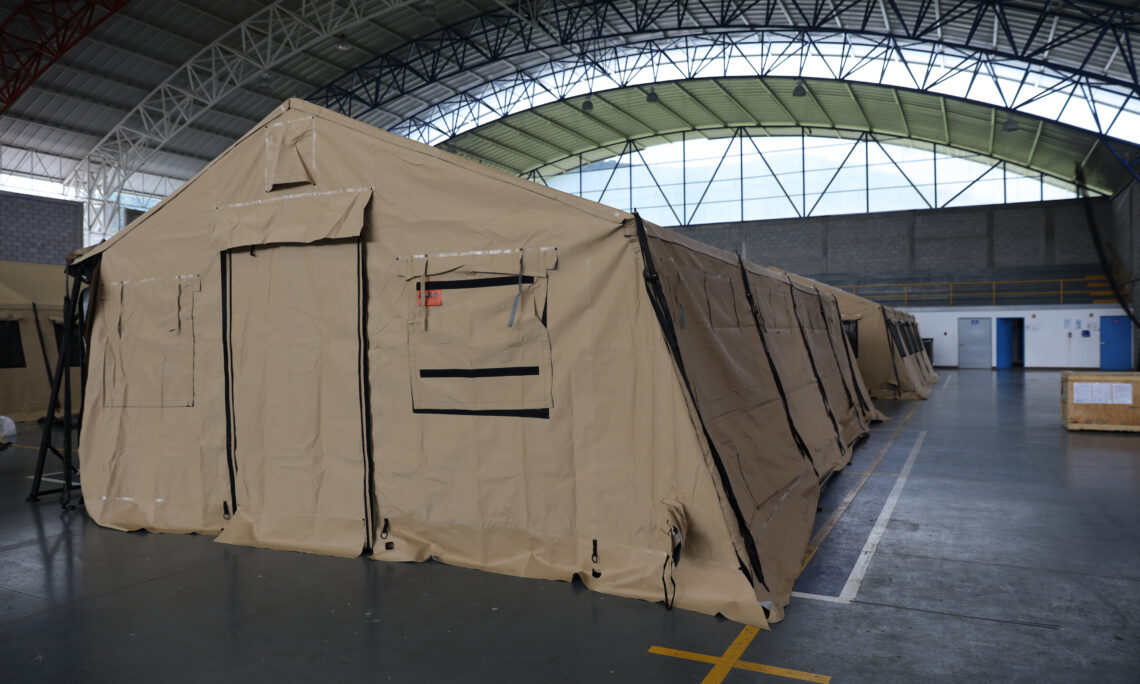 US Donates Field Hospital with 40 Beds Worth $405,000 to SINAE in Rivera, Uruguay