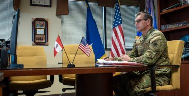 US Southern Command's 12th Air Force Commander Meets FAP General Commander