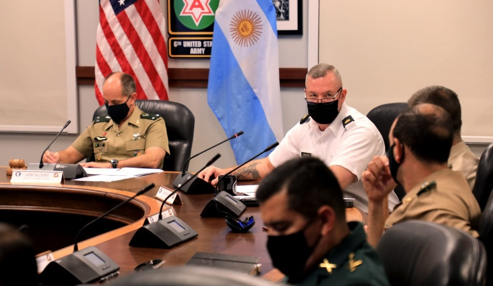 Conference of American Armies Focuses on NCO Development, COVID-19