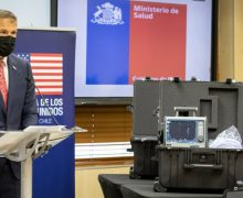 US Donates 8 Ventilators to Chile