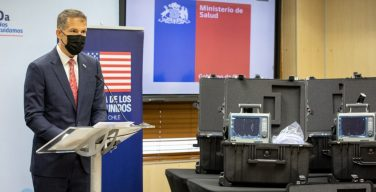 EUA doam ao Chile oito ventiladores mecânicos