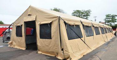 Estados Unidos doa estrutura para hospital de campanha para o governo do Maranhão