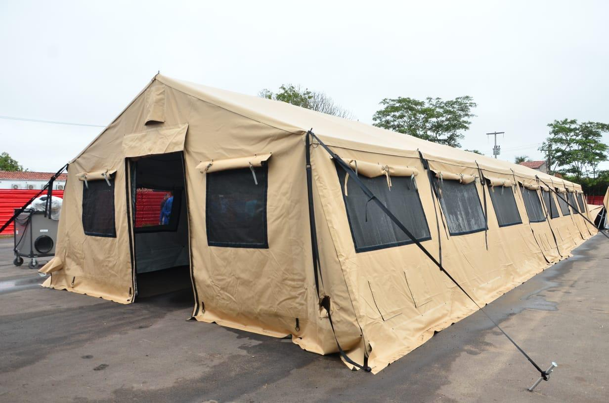 US Donates Field Hospital to Maranhão State, Brazil