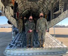 KC-390 Drops Paratroopers in Training with US Air Force C-17 and C-130 Aircraft