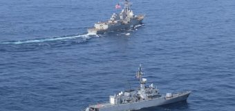 USS James E. Williams Conducts Passing Exercise with Colombian Navy