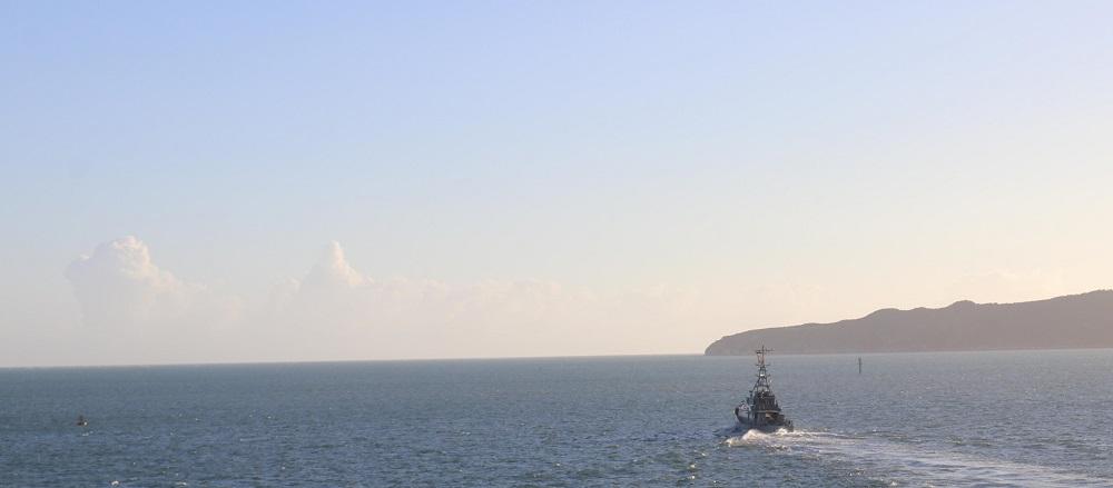 USS James E. Williams and Jamaican Coast Guard Train in the Caribbean