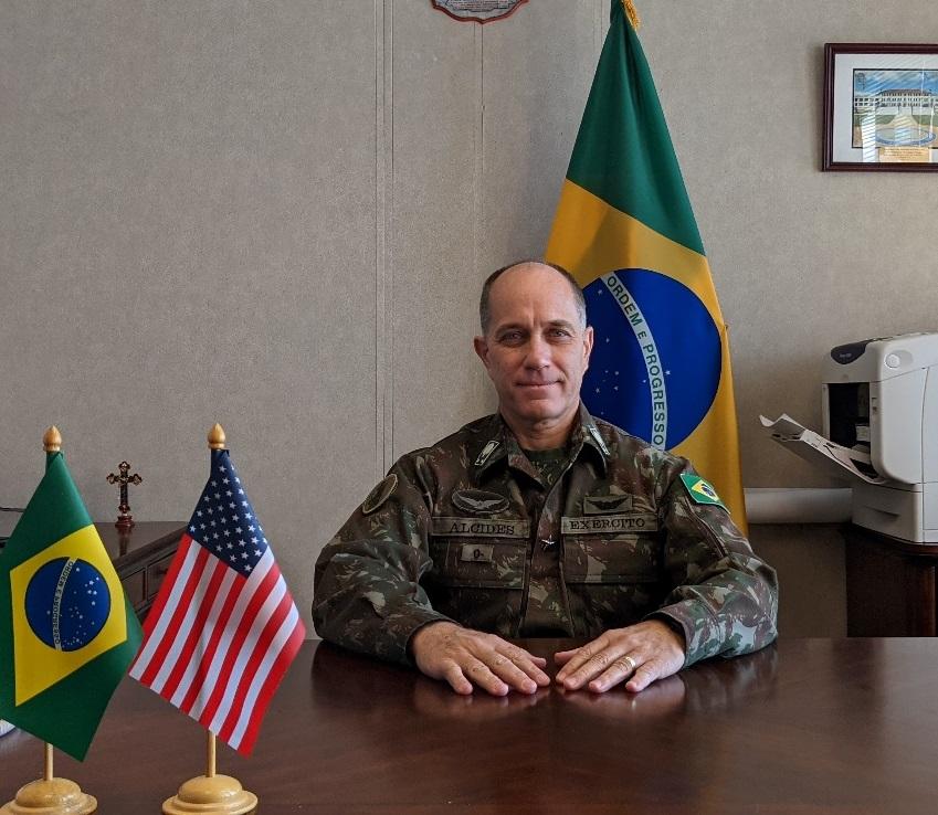 General brasileño habla sobre su participación como subcomandante de interoperabilidad en el Ejército Sur de los EE. UU.