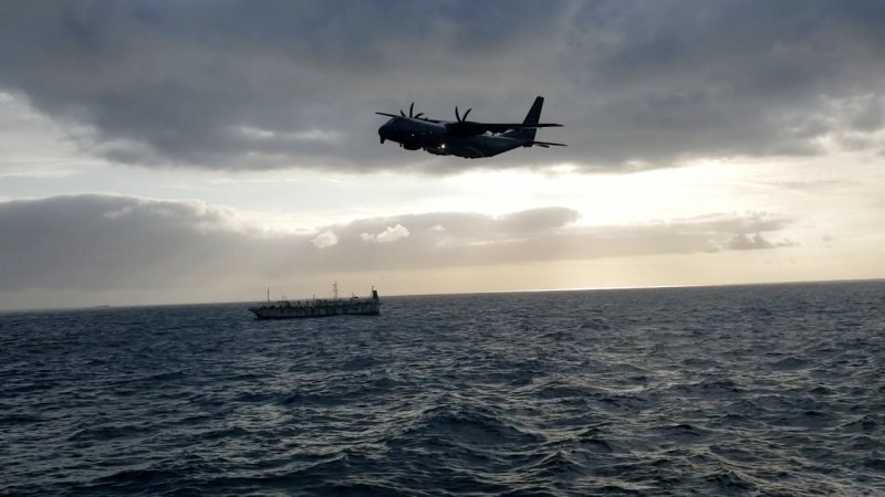 Marinha do Chile reforça a vigilância diante da ameaça da frota pesqueira chinesa