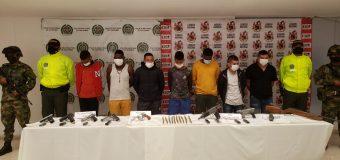 Ejército de Colombia captura a miembros de disidencia de las FARC