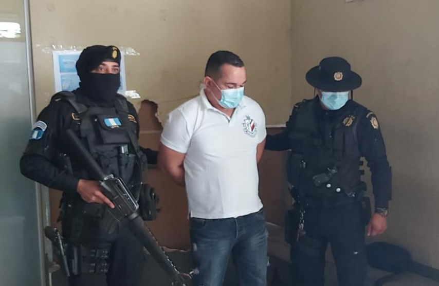 Guatemala Captures Narcotrafficker Investigated by the US