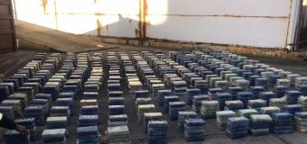 Panamá decomisa más de 1 tonelada de cocaína oculta en carga marítima