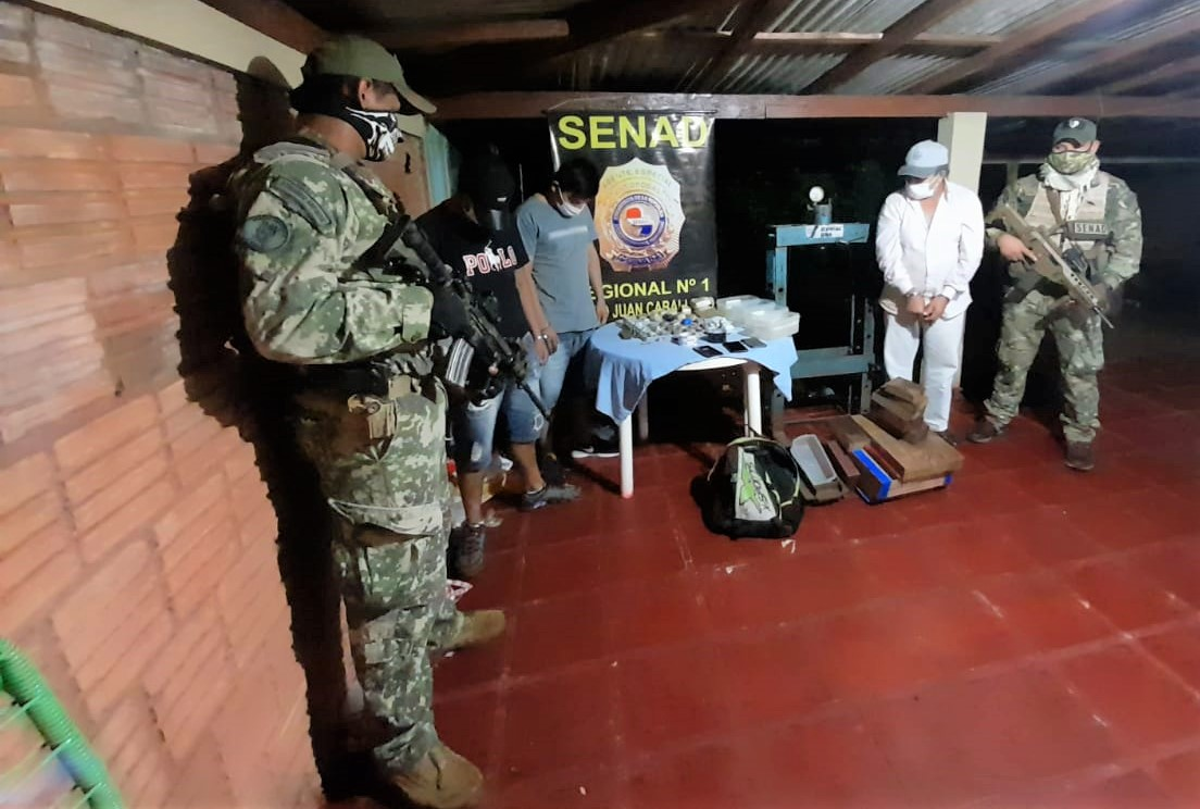Paraguay: Agents Seize 1.6 Tons of Marijuana Bound for Brazil