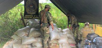 Paraguay: agentes antidrogas incautan casi 9 toneladas de marihuana