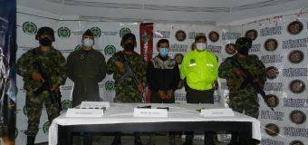Colômbia captura líder máximo de grupo criminoso