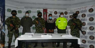 Colombia Captures Top Leader of a Criminal Group