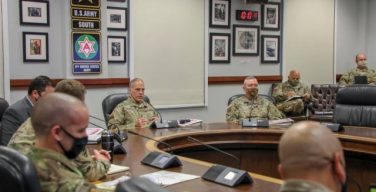 Army South, 1st SFAB Begin Pre-deployment Training Conference