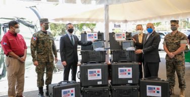 US Government Donates 8 Ventilators to Support Fight Against COVID-19 in the Dominican Republic