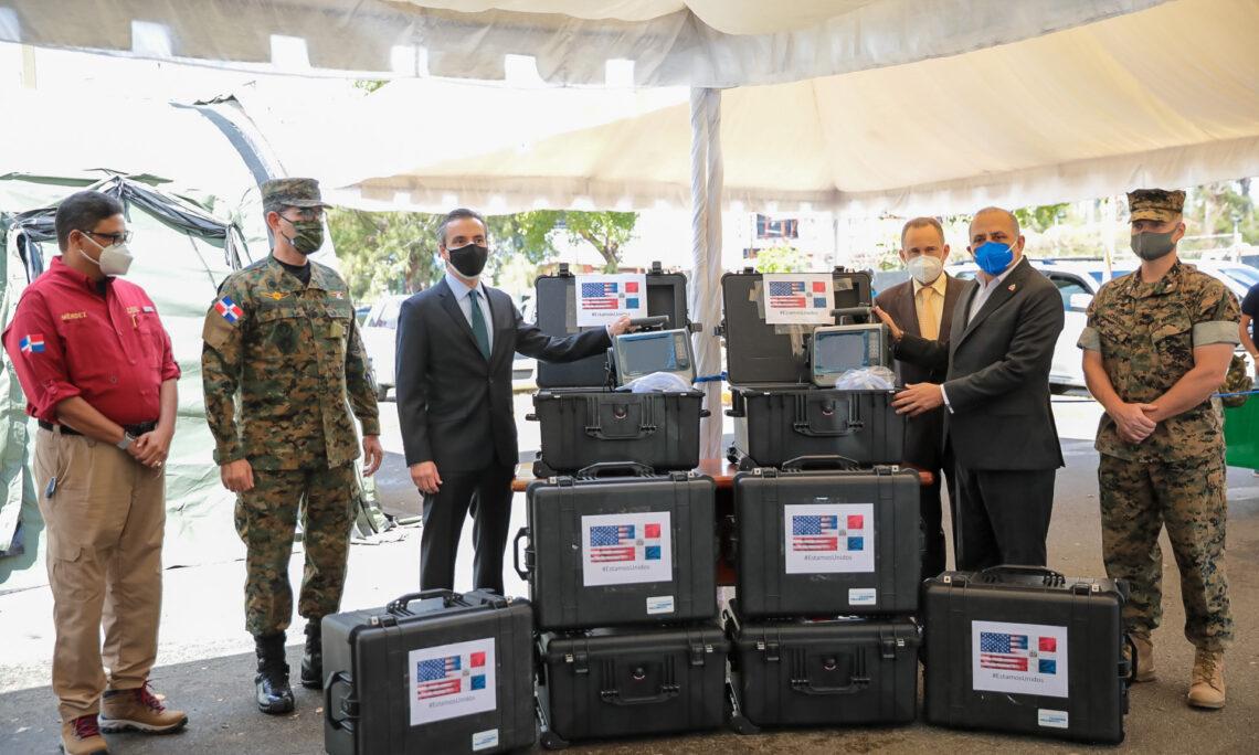 US Government Donates 8 Ventilators to Support Fight Against COVID-19 in the Dominican Republic