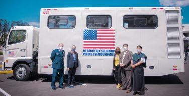 US Embassy Donates Self-sufficient Mobile Clinic Worth $105,000 to Ecuador's Imbabura Province