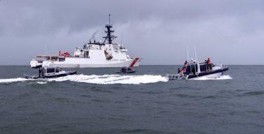 Navio USCGC Stone da Guarda Costeira dos EUA encerra Operação Cruz do Sul