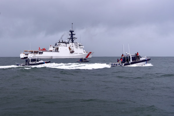 US Coast Guard Cutter Stone (WMSL 758) Completes Operation Southern Cross