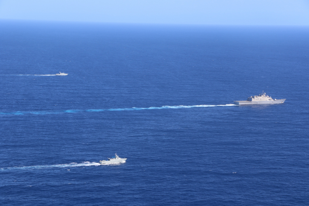 Wichita Conducts First PASSEX on Maiden Deployment with Dominican Republic