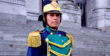Primera mujer lidera unidad de infantería del Ejército de Uruguay