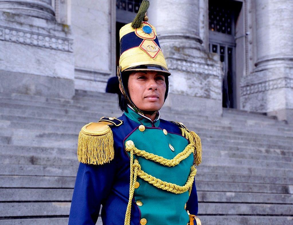 Primeira mulher a comandar uma unidade de Infantaria do Exército do Uruguai