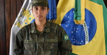 Brazilian Navy Has First Female Marine Corps Midshipman