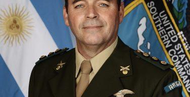 Conselheiro militar da Argentina comprometido com interoperabilidade