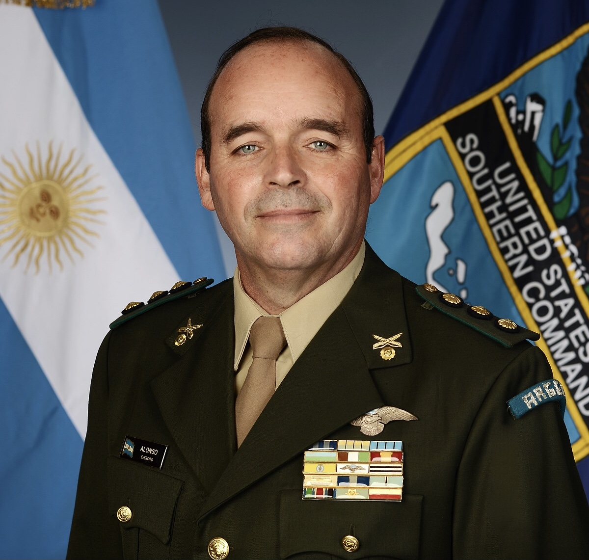 Argentine Military Advisor is Committed to Interoperability