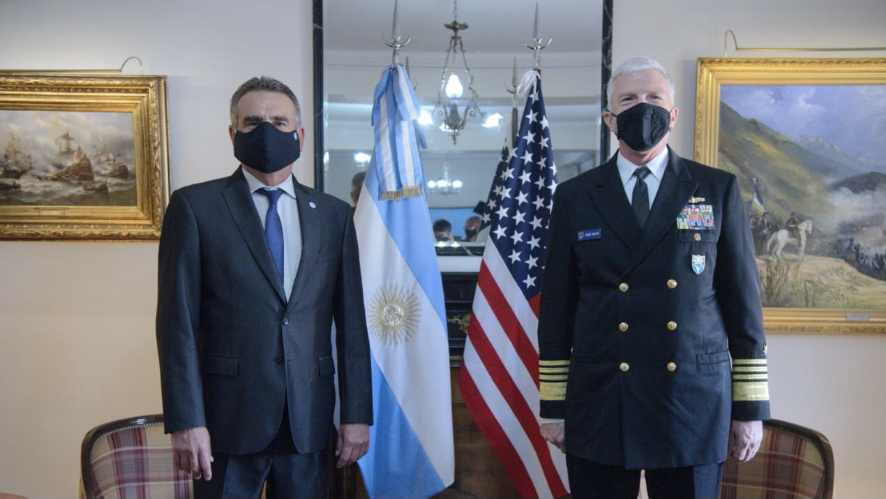 Admiral Craig S. Faller Visits Argentina and Strengthens Bilateral Cooperation
