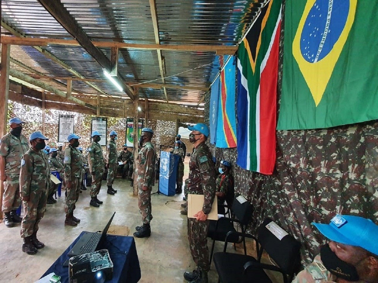 Brazilian Army Carries Out Jungle Training for UN Troops in the Congo