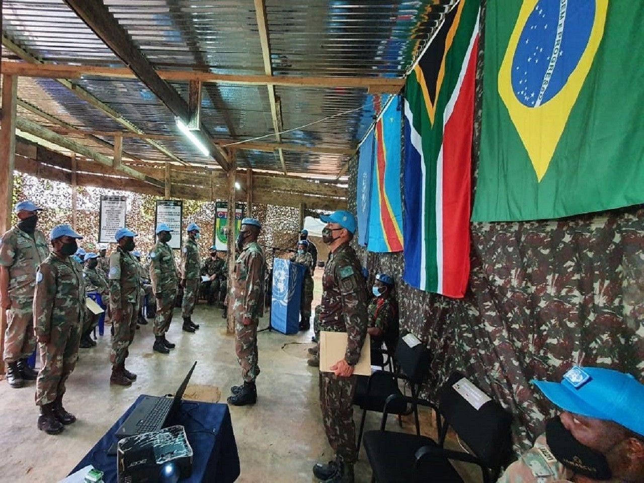 Exército Brasileiro realiza treinamento de selva para tropas da ONU no Congo