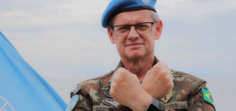Brazilian Generals Change Command at MONUSCO